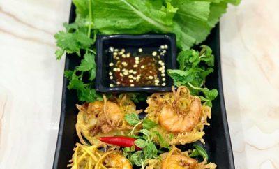 Shrimp Fried Pancake Ho Tay: A must-try Hanoi street food